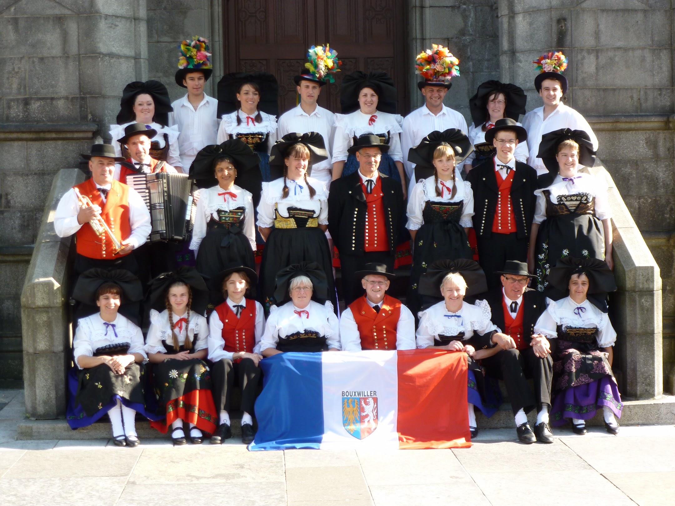 Groupe Folklorique du Pays de Hanau in Aberdeen